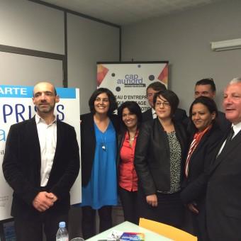 Visite de la Secrétaire d'Etat Madame Myriam EL KHOMRI