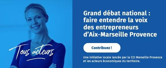Grand débat national : Faire entendre la voix des entrepreneurs d'Aix-Marseille Provence