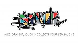 Logo Grandir - Jouons collectif pour l'emploi