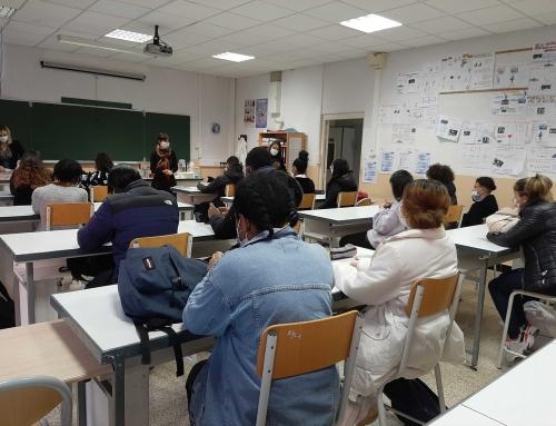 [Collèges et entreprises] Les interventions en classe ont commencé!
