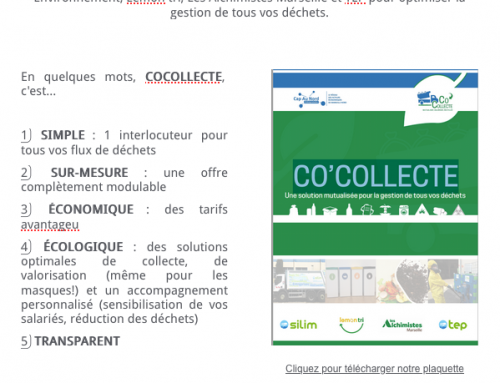 COCOLLECTE | UNE SOLUTION OPTIMALE DE COLLECTE DE DÉCHETS