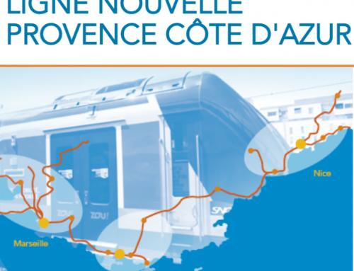Participez à la concertation sur le projet de Ligne Nouvelle Provence Côte d'Azur