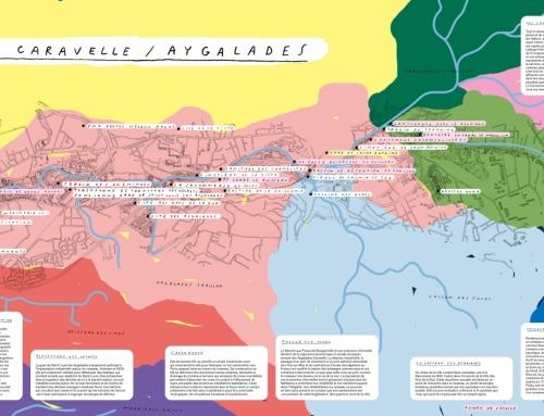 Carte du fleuve côtier Caravelle / Aygaldes